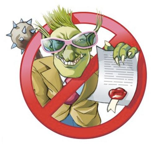 Stop Patent Troll. (PRNewsFoto/Unified Patents) (PRNewsFoto/UNIFIED PATENTS)