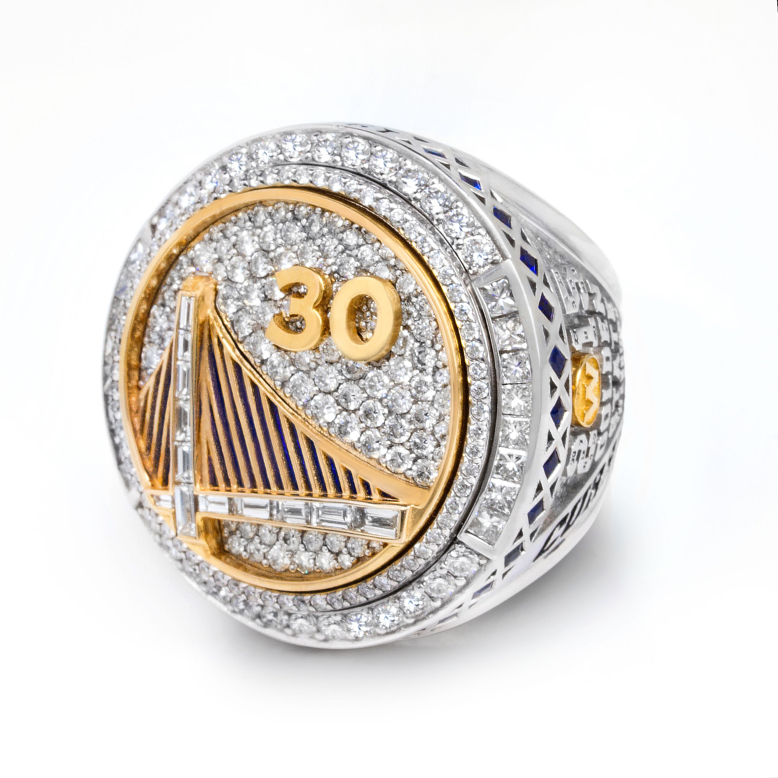 2015 Nba Championship Ring Designed By Jason Of Beverly Hills Unveiled At Golden State Warriors Home Opener