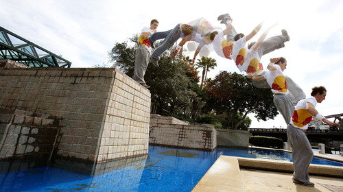 Red Bull Art of Motion Brings Parkour Stateside
