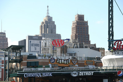 AAA Michigan to Sponsor Detroit Tigers at Comerica Park