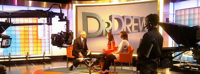 """Lizzie Velasquez (center), whom cyberbullies called """"The World's Ugliest Woman,"""" tells Dr. Drew Pinsky how she learned to love and accept herself just as she was. Born with a rare medical syndrome, Velasquez is unable to gain weight. In high school, """"I stopped listening to what other people said and started making a life for myself,"""" she writes in her new book, Be Beautiful, Be You (Liguori Publications, August 2012). In the book, Velasquez shares the wisdom she discovered - and what every young person needs to know - about finding your purpose in life."""
