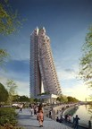 Altair will reach 240 meters - 68 floors - consisting of two towers with one tower leaning against the other. Indocean Developers (P) Limited, a venture of South City projects (Kolkata) Limited, chose Otis to supply a total of 19 elevators, including Sri Lanka's fastest elevators with a travel speed of 5 meters per second.