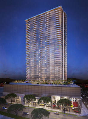 OliverMcMillan's Symphony Honolulu sells 70% of available homes in first two days.