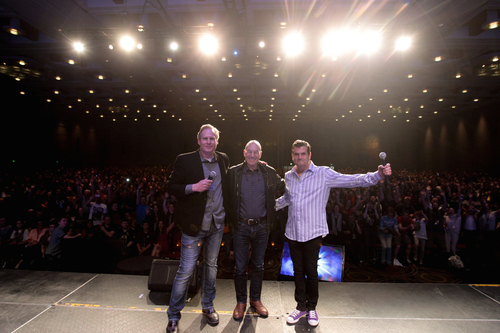 Sir Patrick Stewart's Appearance at Salt Lake Comic Con FanX helped make it the third largest Comic Con in the United States. (PRNewsFoto/Salt Lake Comic Con)