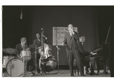 Newly Discovered Historic Live Jazz Summit - Tony Bennett & Dave Brubeck - The White House Sessions, Live 1962 - Available May 28.  (PRNewsFoto/RPM/Columbia Records/Legacy Recordings)