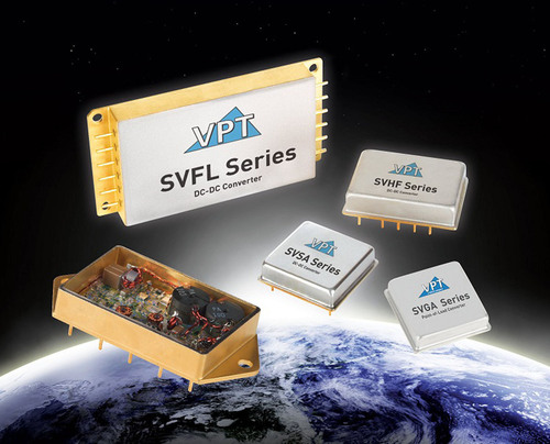 VPT's Space Grade DC-DC Power Converters Now Registered with Defense Logistics Agency.  (PRNewsFoto/VPT, ...