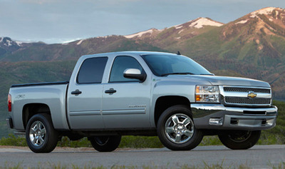Chevrolet's Active Fuel Management system utilizes technology to save fuel on full size trucks and Chevrolet of Naperville offers many of these Chevy trucks at their store.  (PRNewsFoto/Chevrolet of Naperville)