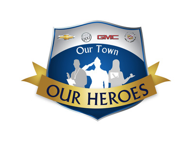 "2012 General Motors' ""Our Town, Our Heroes.""  (PRNewsFoto/General Motors)"