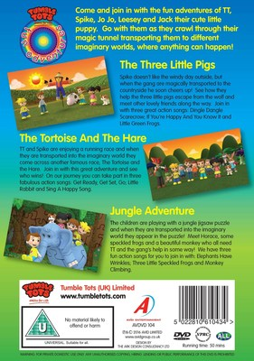 Tumble Tots 3D animated stories available at Amazon and Vimeo