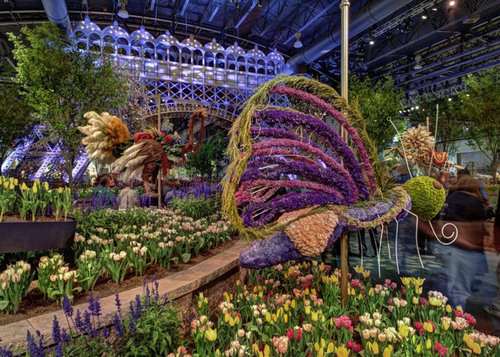 The Philadelphia Flower Show. Credit: Photo by R. Kennedy for GPTMC. (PRNewsFoto/Greater Philadelphia Tourism ...