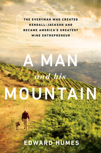 A Man and his Mountain Book Cover.  (PRNewsFoto/Jackson Family Wines)