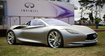Infiniti Emerg-e Concept Makes North American Debut.  (PRNewsFoto/Infiniti)