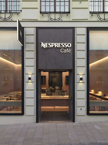 Nespresso brings Viennese consumers a new premium coffee shop experience with its pilot Nespresso Cafe (PRNewsFoto/Nestle Nespresso SA)
