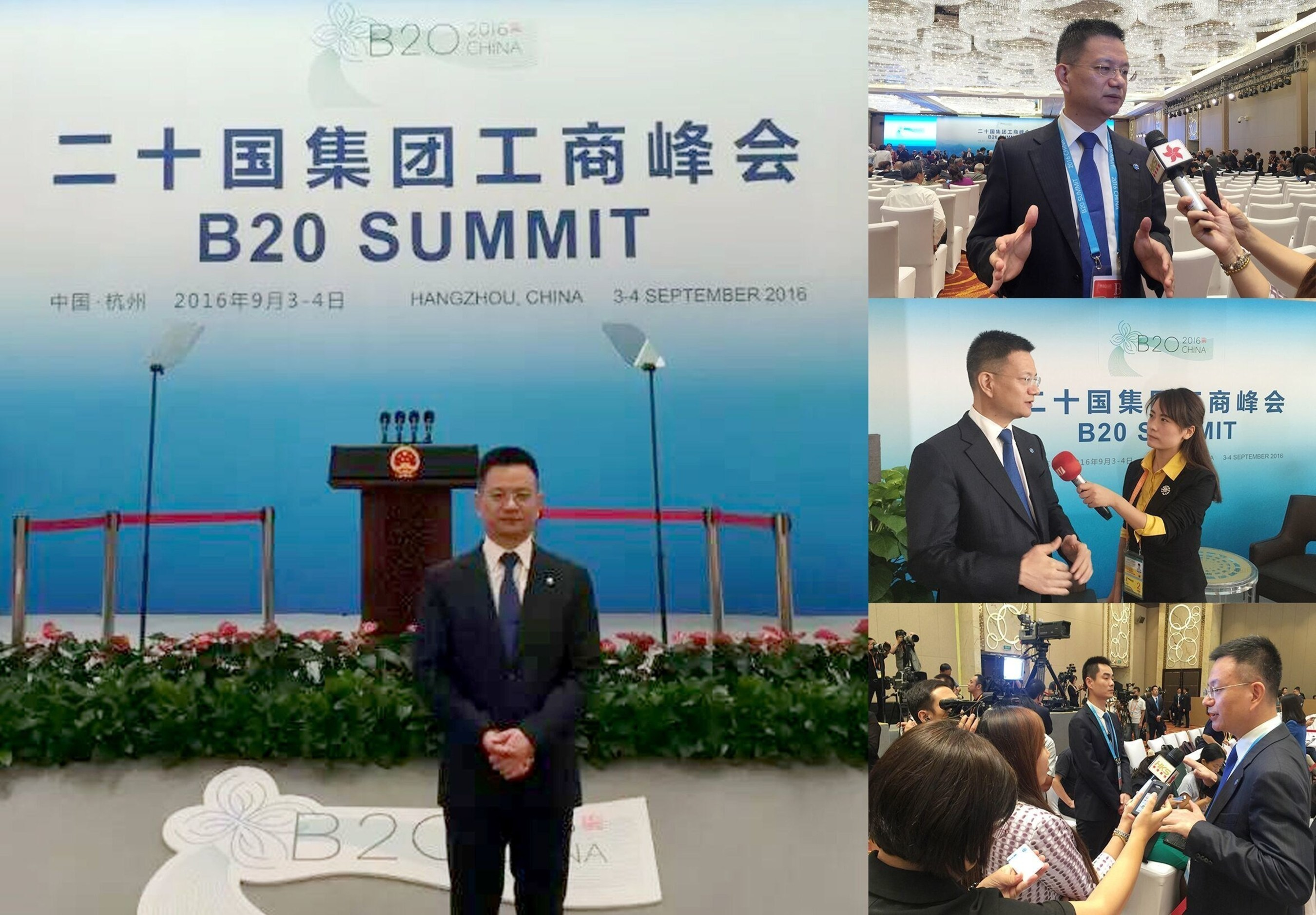 Sparkle of B20 Summit, JUMORE's contribution to G20