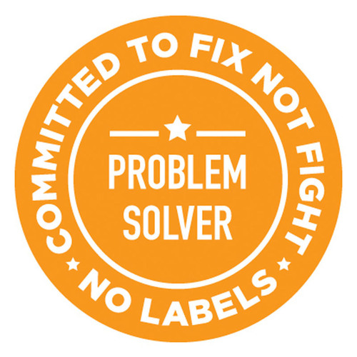 No Labels Problem Solvers Pin. (PRNewsFoto/No Labels) (PRNewsFoto/NO LABELS)