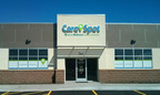 In partnership with HCA Midwest Health System, CareSpot urgent care center in Lee's Summit is located at 228 Northwest Oldham Parkway, Lee's Summit, Missouri. Open 8am - 8pm, 7 days a week. Digital check-in tablets minimize paperwork. A broad range of healthcare services are available for urgent care, health checks, and occupational health -- including physicals, vaccinations, plus on-site X-rays and lab testing. www.CareSpot.com.  (PRNewsFoto/CareSpot)