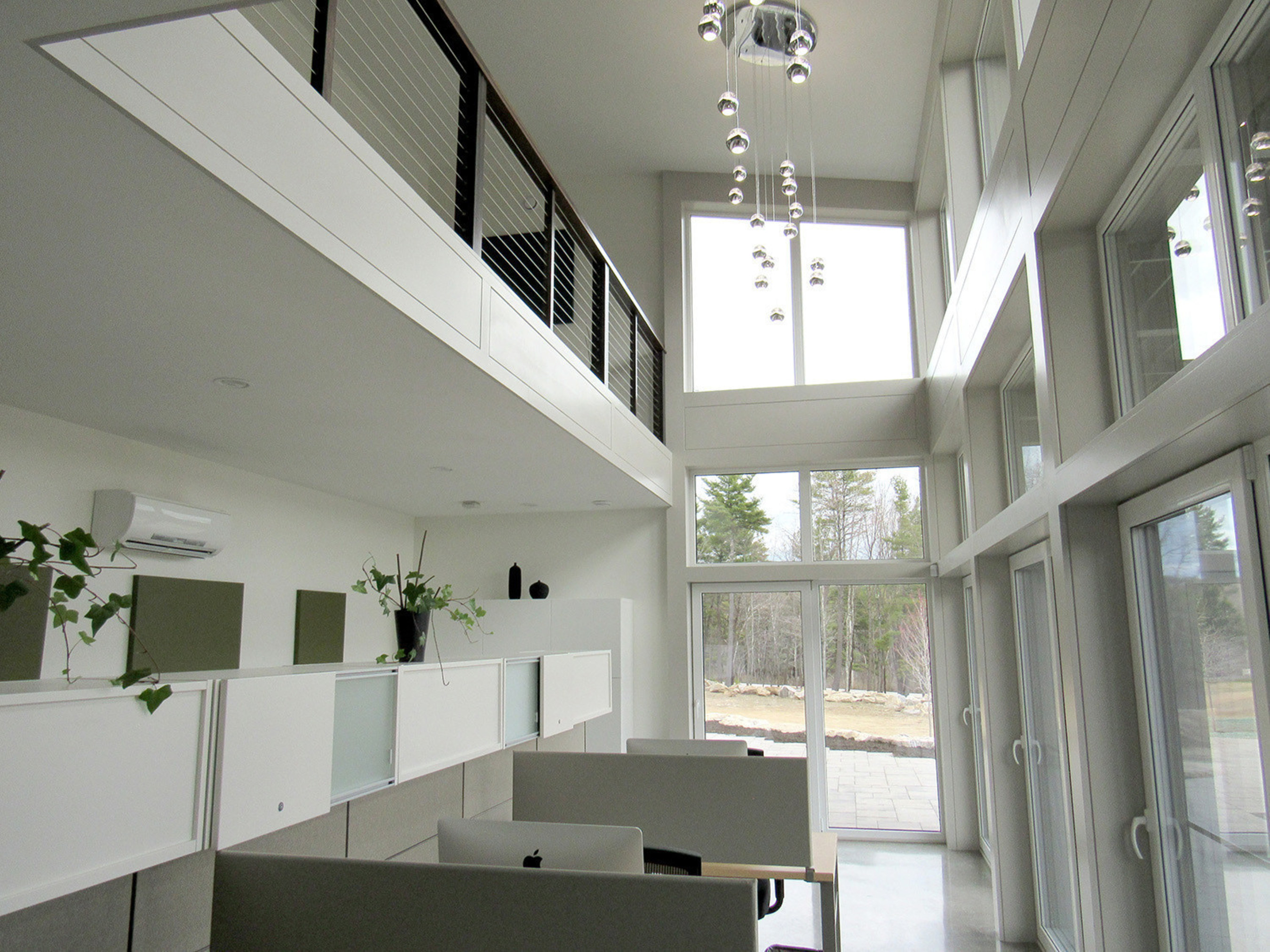 Interior angle of The Viridescent House.
