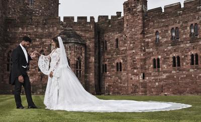 Ciara & Russell Wilson We in Cheshire, UK