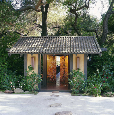 The Original Golden Door Spa located in Escondido, CA.  (PRNewsFoto/Golden Door Spa)