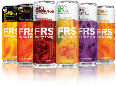 Newly packaged FRS Healthy Energy ready-to-drink products, available nationwide. (PRNewsFoto/The FRS Company)