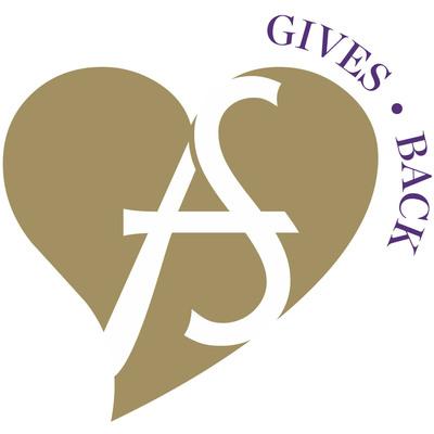 AS Gives Logo. (PRNewsFoto/Ashley Stewart) (PRNewsFoto/ASHLEY STEWART)