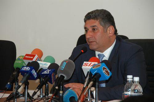 Azerbaijan's Minister of Youth and Sport, Azad Rahimov (PRNewsFoto/Baku 2015 European Games)