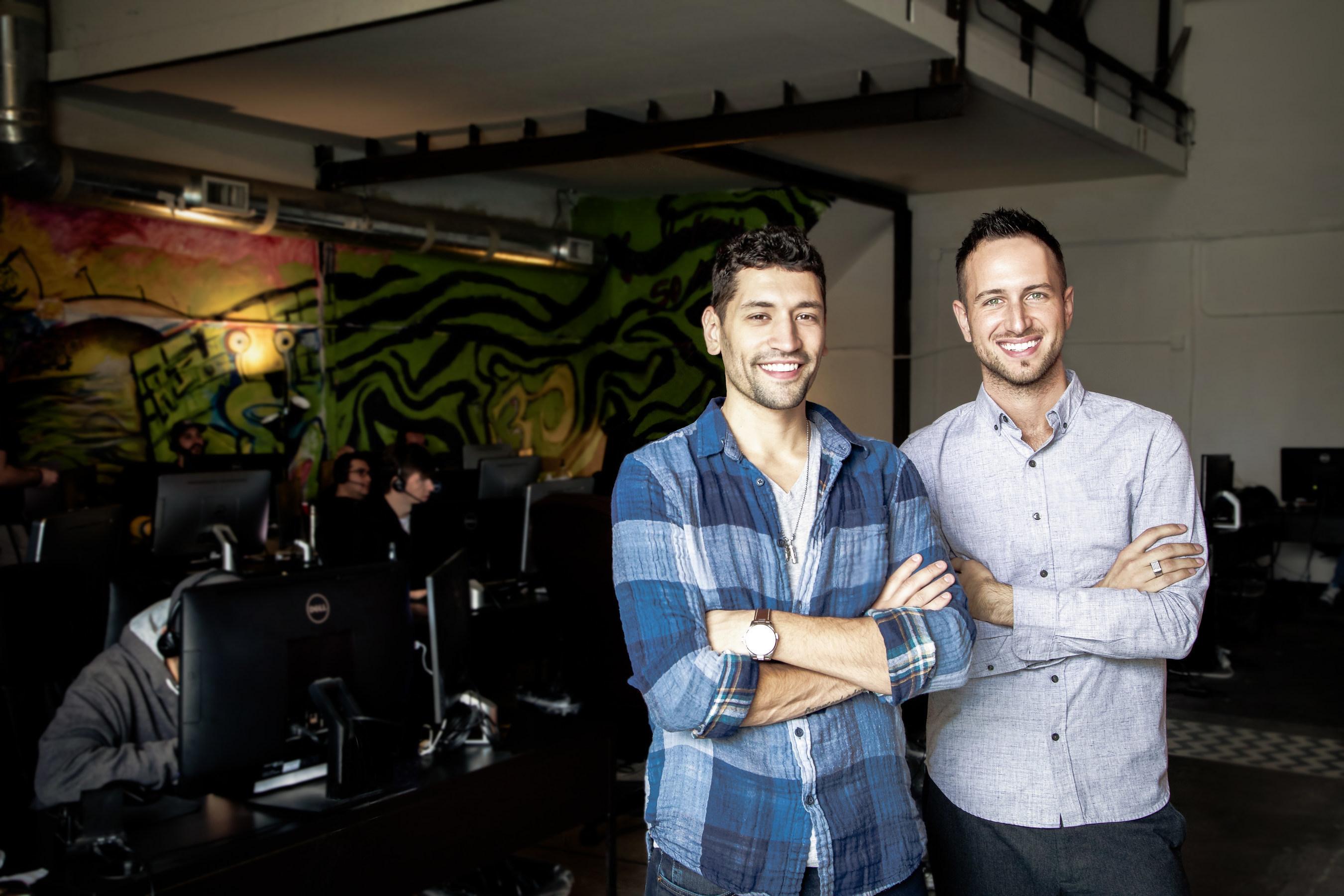 The Zebra CEO Adam Lyons and COO Joshua Dziabiak