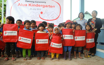 MoneyGram and Children of Vietnam dedicate new kindergarten in Tay Giang, Quang Nam province