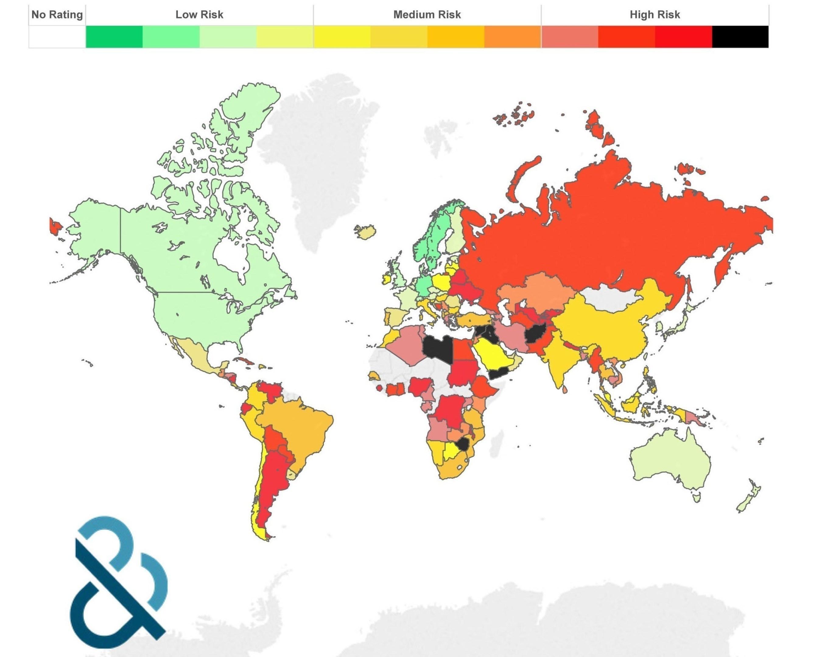 Global supply chain risk in the fourth quarter of 2015
