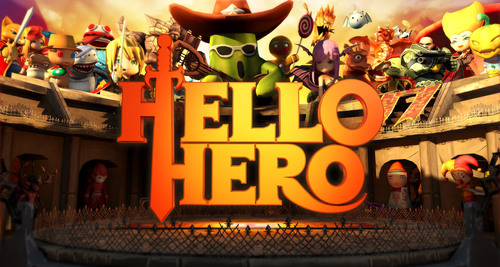 Hello Hero from Fincon, an online Roleplaying Game (RPG) Now Available on iOS and Android. (PRNewsFoto/Fincon ...