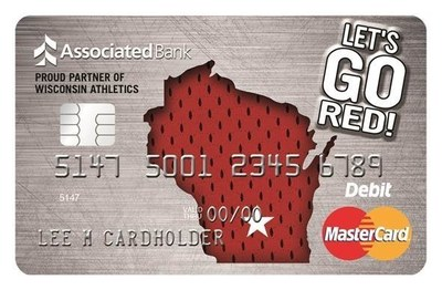 """Let's Go Red"" Debit Card"