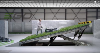 The Escape Pod Advertising Ditches The Outdoors for EGO POWER+