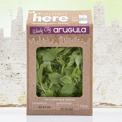 Windy City Arugula.  (PRNewsFoto/FarmedHere, LLC)