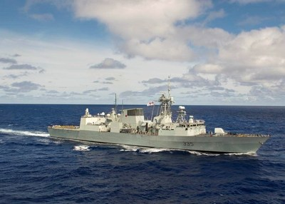 System acceptance of the Lockheed Martin Canada combat system has been achieved on seven of Canada's 12 Halifax Class frigates, including HMCS Calgary, pictured here.