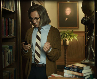 "In the first installment of ""Have an MVP Day,"" MVP point guard, Steve Nash, sports a wig to transform into a librarian who can't keep his excitement quiet after a DailyMVP victory."