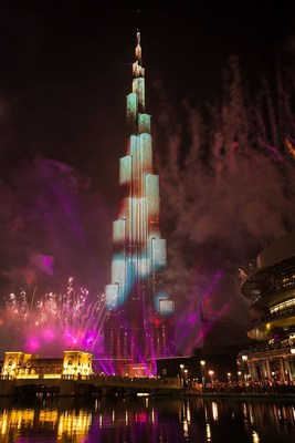 Downtown Dubai New Year's Eve Gala 2015. (PRNewsFoto/Emaar Properties)