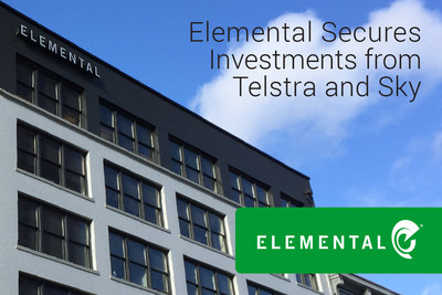 Elemental secures $14.5 million in financing led by Australian telco leader Telstra. Europe's largest entertainment company Sky is joined in the round by existing investors General Catalyst Partners, Norwest Venture Partners and Voyager Capital.