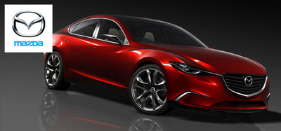The 2015 Mazda6 is soon to make an appearance at dealership lots.  (PRNewsFoto/Ingram Park Mazda)