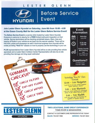 "Hyundai Kicks Off National ""Before Service Experience"" Tour"