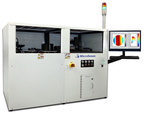 The MicroSense UltraMap C200A is an automated LED Sapphire Wafer Measurement system based on MicroSense's proprietary two sided capacitive sensing technology.  The system measures critical substrate parameters including Thickness, TTV, Bow, Warp and Local Thickness Variation (LTV) with high throughput.  The UltraMap C200 is designed for sapphire wafer manufacturers and LED chip makers who require better wafer geometry inspection with higher measurement repeatability, compared to traditional optical metrology systems. (PRNewsFoto/MicroSense, LLC)