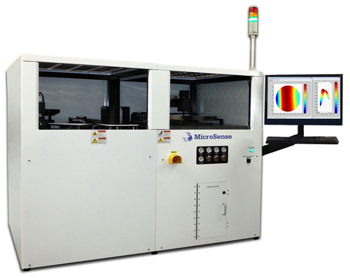 The MicroSense UltraMap C200A is an automated LED Sapphire Wafer Measurement system based on MicroSense's proprietary two sided capacitive sensing technology.  The system measures critical substrate parameters including Thickness, TTV, Bow, Warp and Local Thickness Variation (LTV) with high throughput.  The UltraMap C200 is designed for sapphire wafer manufacturers and LED chip makers who require better wafer geometry inspection with higher measurement repeatability, compared to traditional optical metrology systems. ...