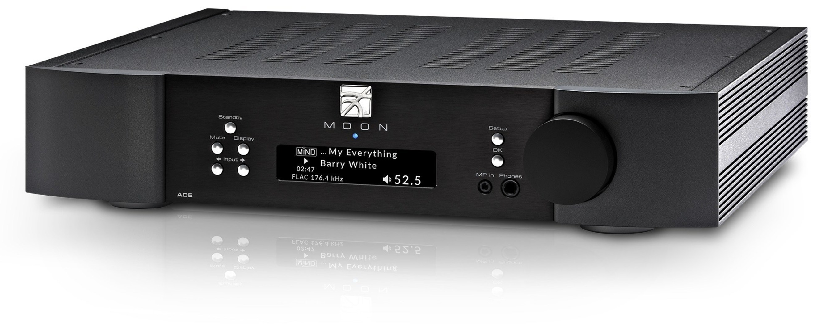 MOON by Simaudio proudly introduces the MOON Neo ACE 'All in One' Integrated Amplifier + Streaming
