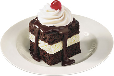 Shoney's(R), the great American eatery and a family favorite dining destination for decades, will honor all dads this Sunday, June 16 on Father's Day with a signature Hot Fudge Cake with the purchase of a meal or entree.  (PRNewsFoto/Shoney's)
