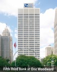 Artist rendering of the new regional headquarters for Fifth Third Bank (Eastern Michigan) in the Bedrock Real Estate Services-owned One Woodward building located in Detroit, Michigan.
