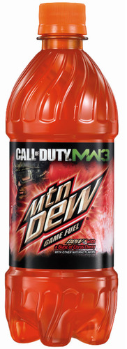 Mountain Dew Game Fuel - DEW with a blast of citrus cherry.  (PRNewsFoto/PepsiCo)