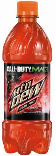Mountain Dew Game Fuel - DEW with a blast of citrus cherry.  (PRNewsFoto/PepsiCo)