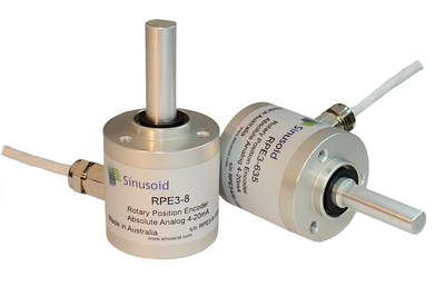 Sinusoid rotary encoders