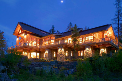 "Auction August 20th of ""Endless Sky Estate"" by Concierge Auctions WhitefishLuxuryAuction.com.  (PRNewsFoto/Concierge Auctions)"