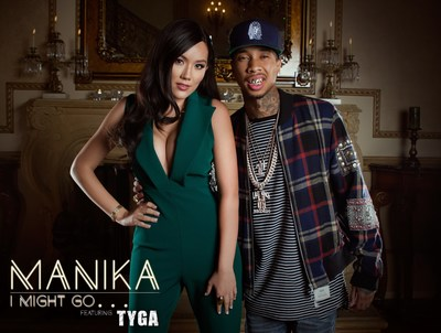 """Manika Quietly Drops New Music Video """"I Might Go..."""" Featuring Rapper Tyga, Quickly Generating More Than 400,000 Views"""
