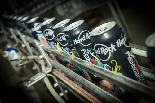 Hard Rock Energy drinks debut in South Florida as Seminole Tribe of Florida, Inc. launches new product rollout.  (PRNewsFoto/Seminole Tribe of Florida, Inc.)